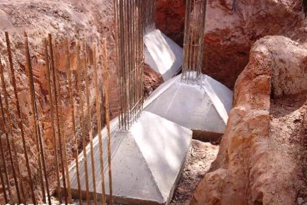 Sapatas isoladas na prática - fundações superficiais