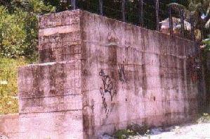 Muro de concreto ciclópico