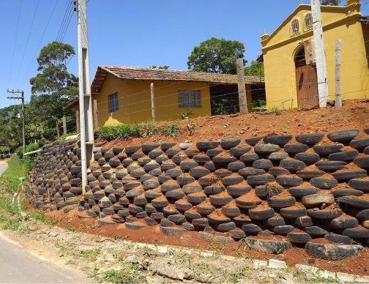 Muro de pneus