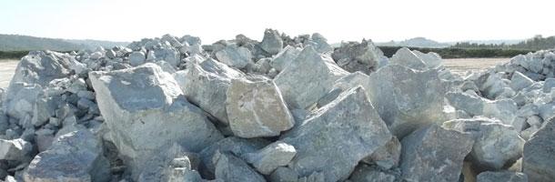 Calcário: Rochas Sedimentares.