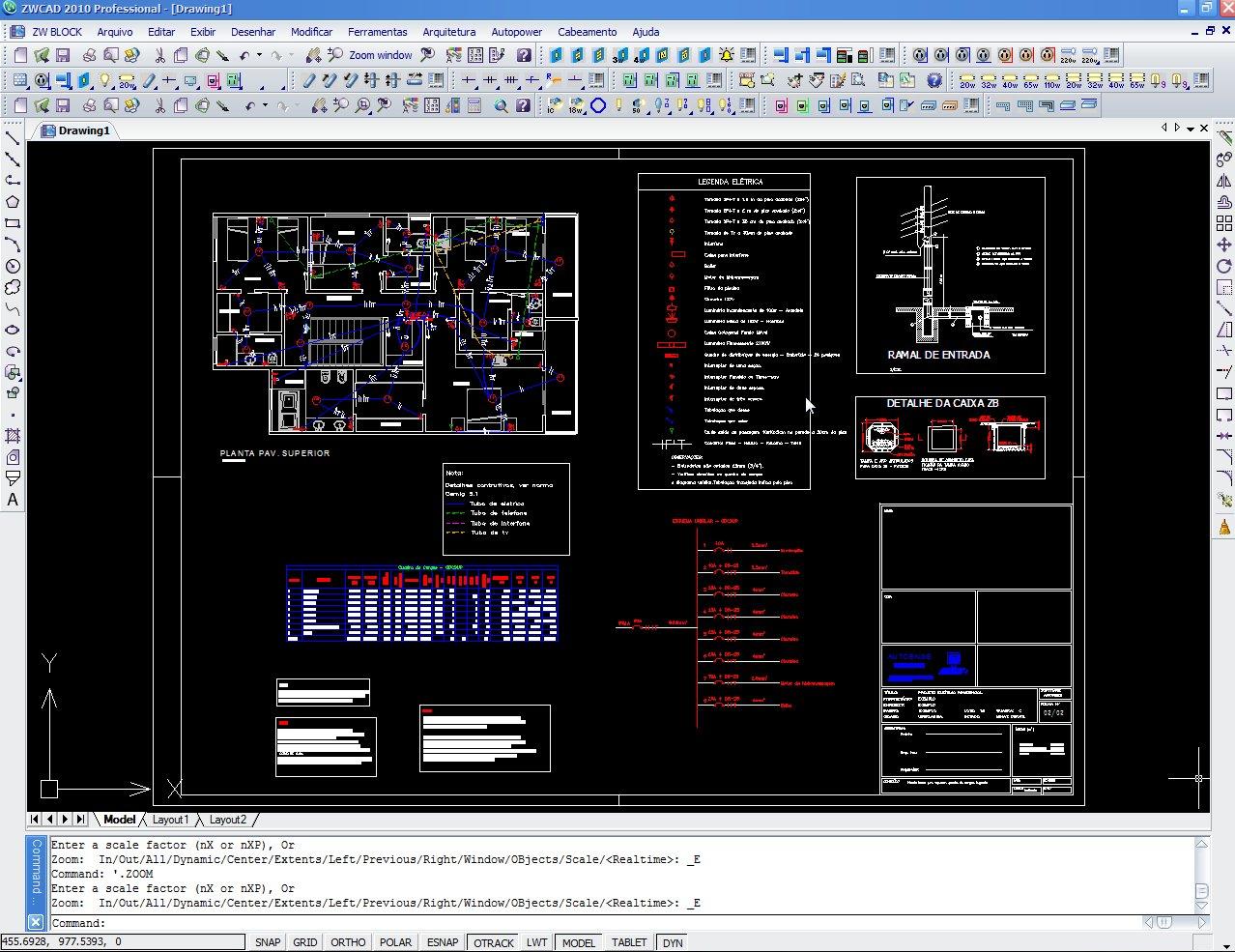 Projeto elétrico realizado no AutoPower