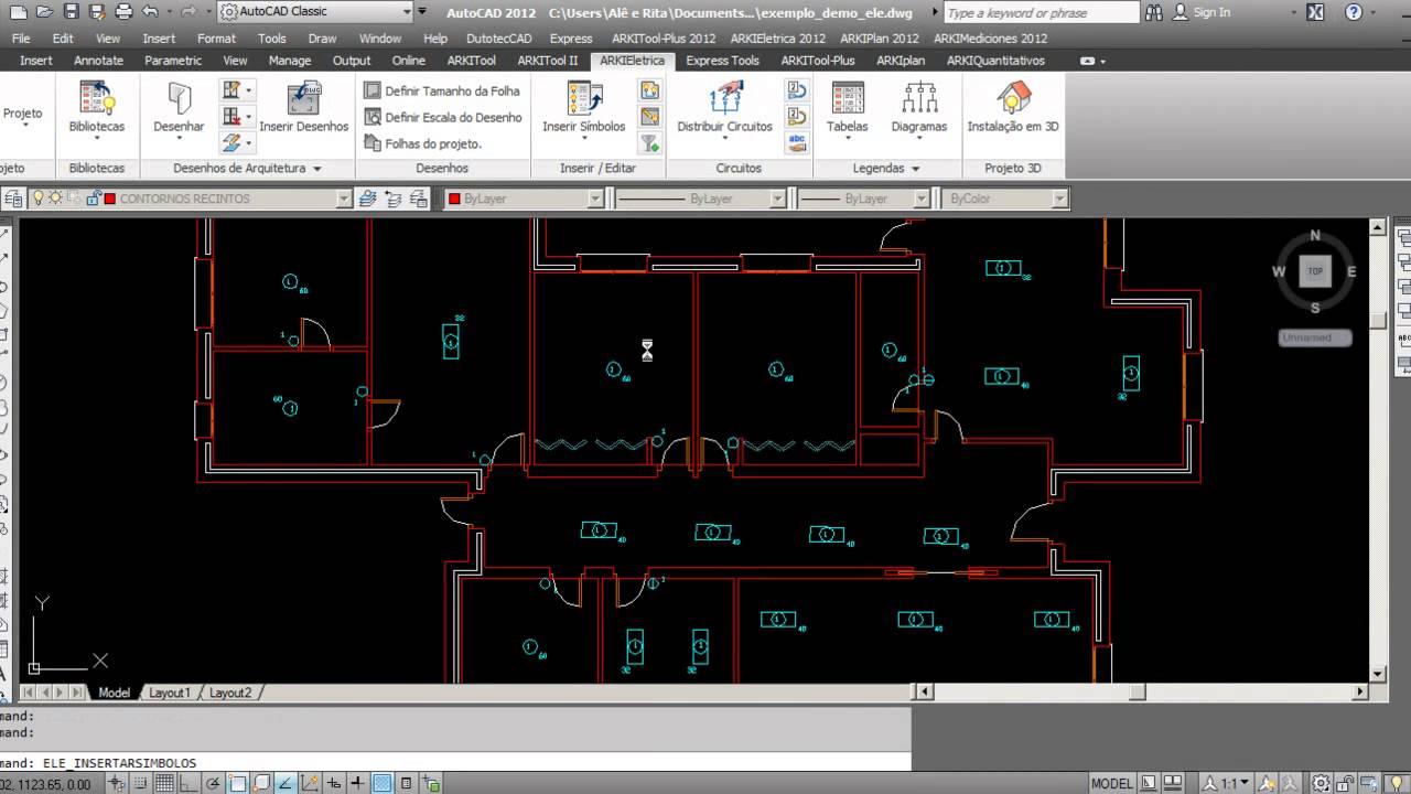 Software de Engenharia ARKIElétrica