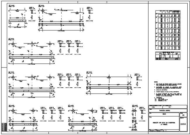 Exemplo de um projeto estrutural