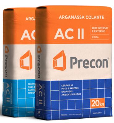 Argamassa AC II da Precon