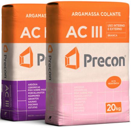 Argamassa AC-III da Precon