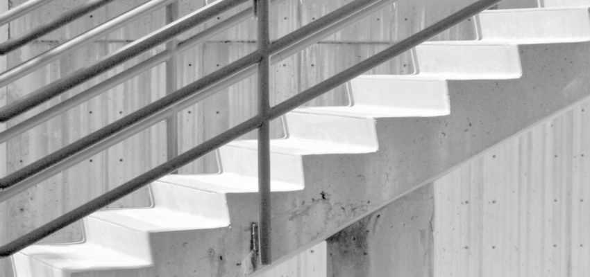 Dimensionamento de escadas de concreto