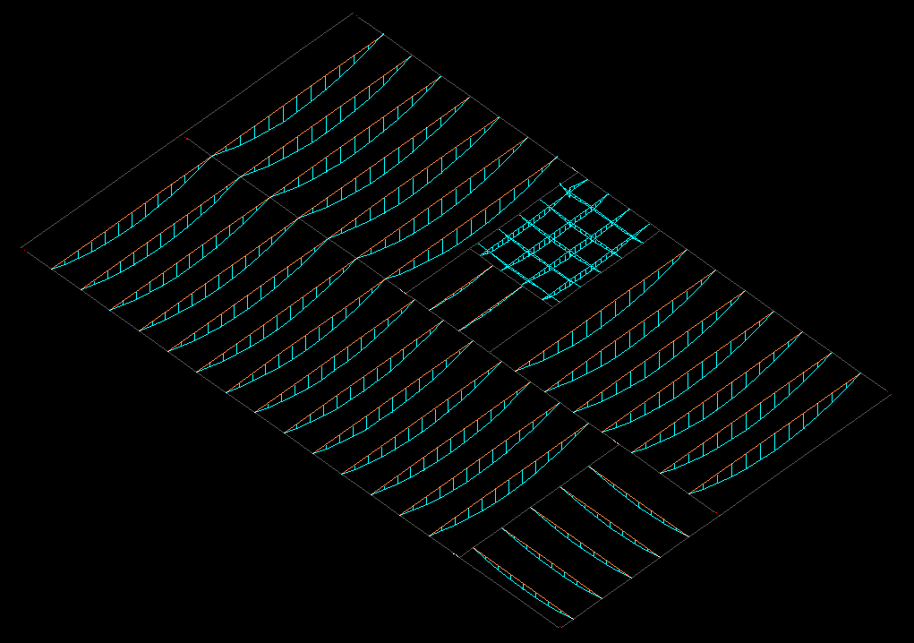 Modelo para lajes nervuradas no TQS