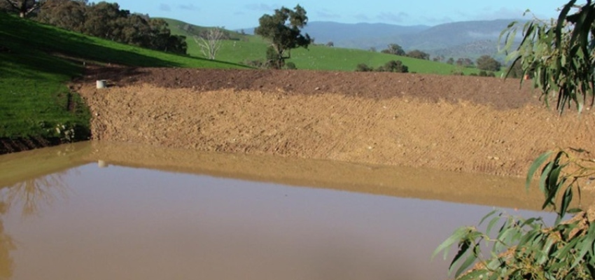 Água no solo - Capa