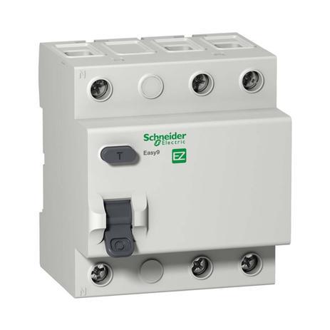 Exemplo de um Interruptor Diferencial Residual tripolar