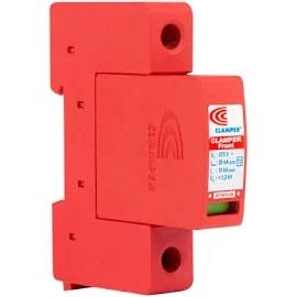 Exemplo de um dispositivo de proteção contra surtos