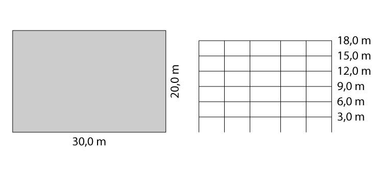 Exemplo de cálculo do vento